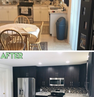 The Kitchen & Bath Factory-Tampa, Florida- Before & After Photos